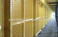 brass welded wire mesh panel