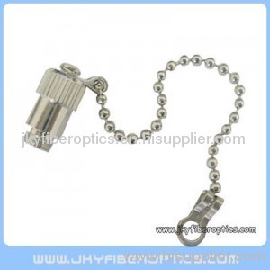 SMA Metal Dust Cap With Chain