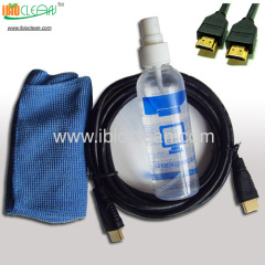 HDMI cable and Plasma/laptop/iphone/ipad screen cleaning kit