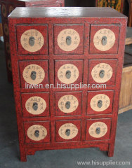 Oriental furniture medicine cabinet