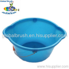 HQ2360 8L household light plastic water bucket,PP bucket with metal handle