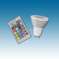 3W RGB Led bulb GU10