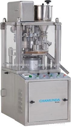 Mini rotary r d tablet press tableting from china for Tinning table model