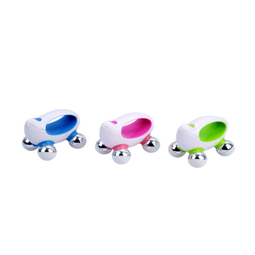 Small and light weight, can be taken anytime, anywhere to enjoy massage fun.