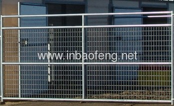 Electro Galvanized Welded Wire Fence Panels from China manufacturer ...