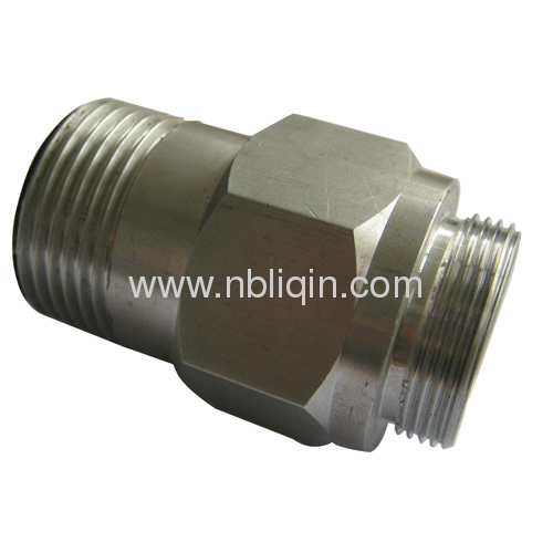 Zinc plating process galvanized pipe fitting products from