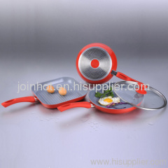 ceramic coating Aluminium Cookware Set china supplier
