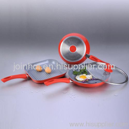 ceramic coating Aluminium Cookware Set