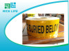 factory direct Nice Life Al foil Undergrond Detectable Warning Tape