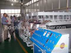 PP/PE hollow grid plate extrusion line