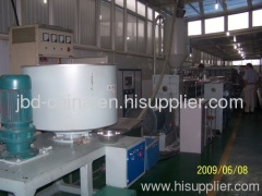 PP/PE hollow grid plate making machine