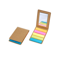 Stylish sticky notes with mirror