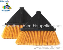 HQ0136R household plastic floor broom,hard broom,outdoor broom head for one dollar USA store