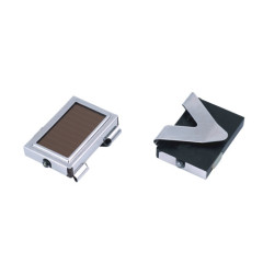 LED solar light with clips