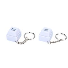 Mini LED keyboard light with keychains