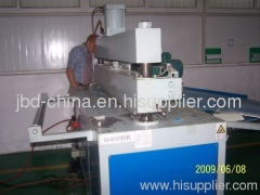 PP hollow grid sheet making machine