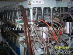 PP hollow cross section sheet production line