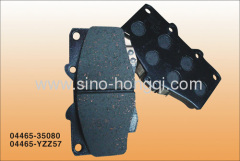 Brake pad 04465-35080 for Toyota