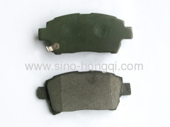 Brake pad 04465-17100 for toyota