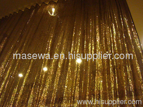 metal Curtain Decorative Mesh Wire Mesh Home Decor