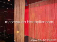 metal bead divider bronzen metal curtain