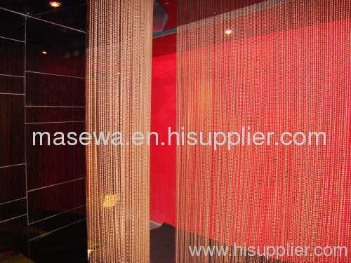 metal bead divider bronzen metal curtain