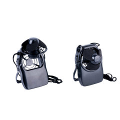 Mini cooling fan with neck strap