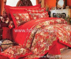 Comfortable wedding bedding set(5pcs)