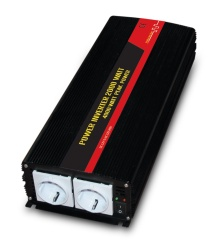 2000W power inverter with double sockets