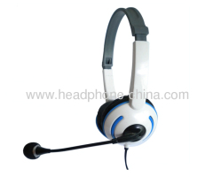Fashion wired Computer Headphone With Microphone