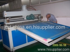 PP hollow profile sheet production line