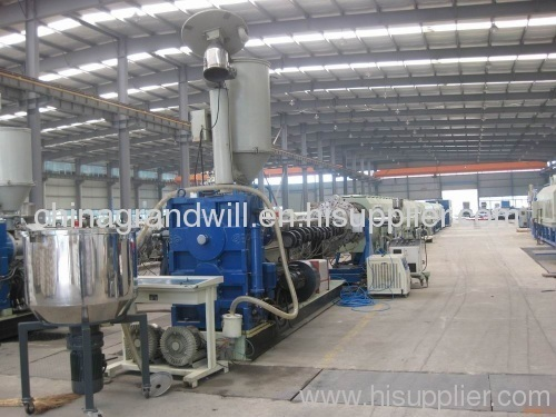 22mm PE pipe extrusion line