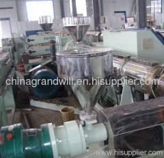 63mm PE pipe extrusion line