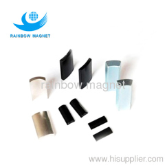 sintered neodymium arc magnets. high temperature are magnets