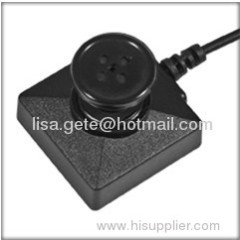 B/W button camera/ccd button camera screw 5v spy camera