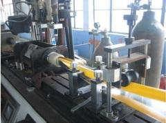 plastic composite pipe production line