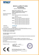 EMC certificate for MR16 low power LED bulb