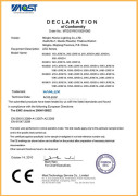 EMC certificate for JDR E14 low power LED bulb