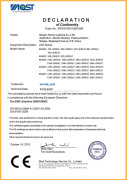 EMC certificate for JDR E27 low power LED bulb