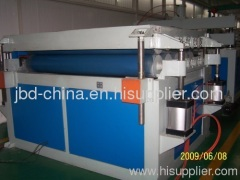 PC hollow grid plate production line