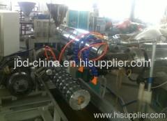 PVC plasticized -tendon spiral pipe extrusion line