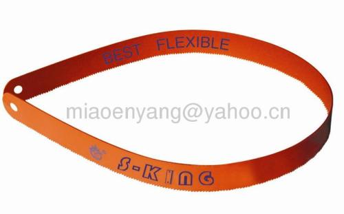 flexible bimetal hacksaw blade
