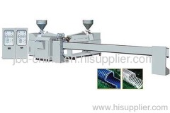 PVC plasticized -tendon sprial hose production line