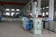 75mm PE pipe extrusion line