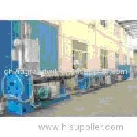 120mm PE pipe extrusion line