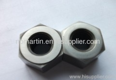 ASTM A194 Heavy Hex Nut Single Chamfer (one side only)/Washer Face (shiny)/Double countersunk