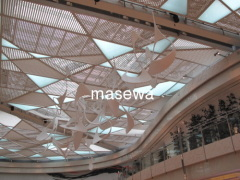 architectural wrie mesh for ceiling