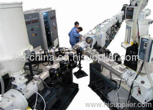 PPR fiberglass reinforced pipe production line