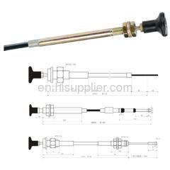 push-pull control handle