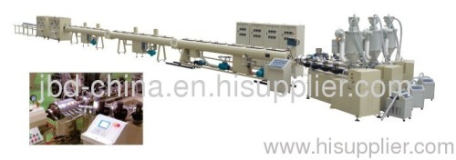 PPR three layers pipe production line